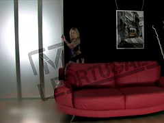 HOTGOLD Hot Portuguese blonde babe cums solo