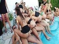 Pool Super Real hardcore orgy