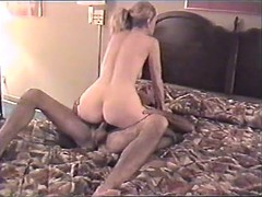 Sexy wife uses another stranger at motel