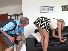 Meeting a foreign exchange student who is living with a Mom i`d like to fuck