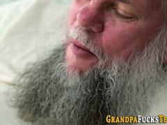Regal babe desires to get screwed by this stud with enormous cock in several poses but first she gives him a head