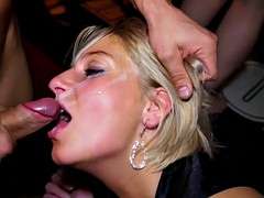 sucking cock at the party