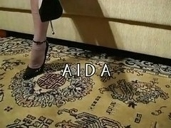 Ada - stockings high heel tease