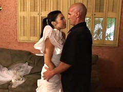 bride gets extreme fucking