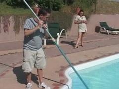 Soccer mom Seduces the Pool Boy - Cireman
