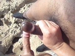 beach masturbation today