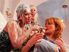 Morena, Fetiche, Lesbiana, Trio