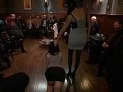 Américain, Bondage domination sadisme masochisme, Garce, Brunette brune, Domination, Fétiche, Humiliation, Innocente