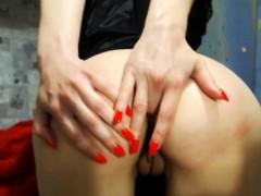 Amateur, Culo, Masturbación, Juguetes, Camara web