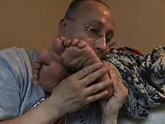aiesha's feet gets tickled part 1