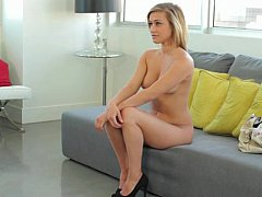Casting sweet Kennedy's cunt