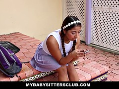 Young Babysitter Fucked or Fired
