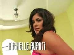 Michelle Avanti like it up her latin nuts: blk