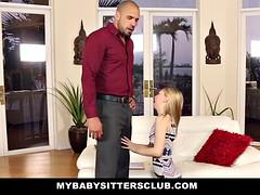 MyBabySittersClub  Pale Skinned BabySitter Punish