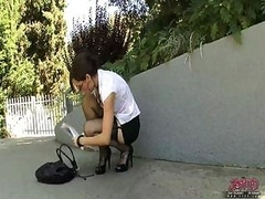 Sasha Grey Knows How To Do Busin