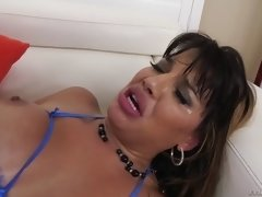 big breasted mercedes carrera getting asshole drilled