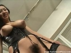 Dominatrix Stepped On Food & Made Menial Eat It
