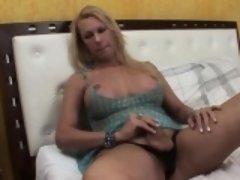 Hot tgirl with big boobs