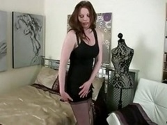 Purple pole Deprived Housewife Gets down and dirty He