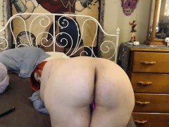 Amateur, Cul, Fétiche, Rousse roux, Solo, Webcam