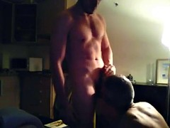 Dad does not facefuck and pounded hard