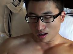 asian straighty jerks
