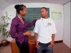 Sizeable Black Booty Teacher Ms.Semmie Savanna