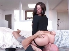 Sexy Booty Milf Gets Fine Purple pole!