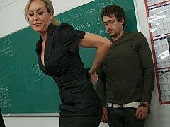 My teacher takes full advantage