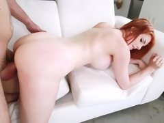 Rainia Belle boned in her perfect pussy until he nuts