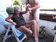 my wife caught fucking with thee gardener