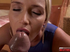 Hot milf pov with cum in mouth