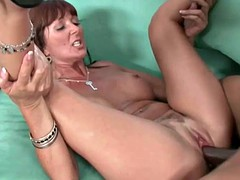 Mom decides to try black cock