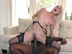 Cadence Lux tries Mandingo's black dick