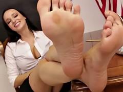 sexy teacher feet joi