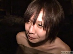 subtitle for the first time a Japanese lesbian hot spring bathing