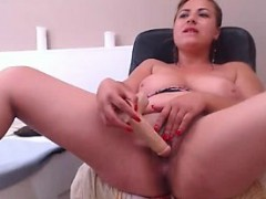 Mature Blonde Solo Foreplay