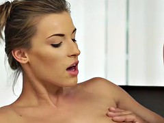 daddy4k. dad fucks son's beautiful mistress victoria daniels on couch