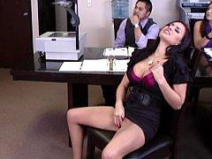 Masturbating during a sales meeting??