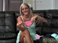 you will look so cute in pink panties
