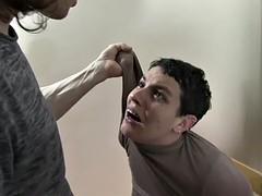 maledom shirt grabs