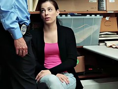 Zoe Parker blowjobs the LP Officers thick cock
