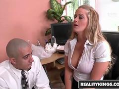 RealityKings - Big Tits Boss - Bruno Dickenz Holly Heart Big Tits Boss Holly - Bossy Boobs