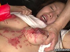 Her slick and wet pussy getting toyed waxed and fucked