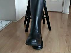 Bottes, Fétiche des pieds, Latex