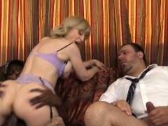 IR banged mature babe cuckolds her husband