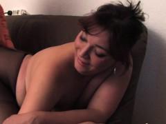 Pantyhose girl gets fucked