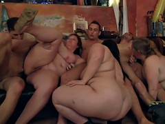 party goes on cream on tits