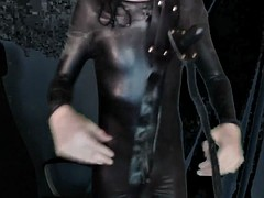 Electro chastity belt