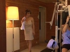 Français, Maman, Sauna